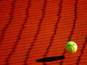 yellow sport ball tennis